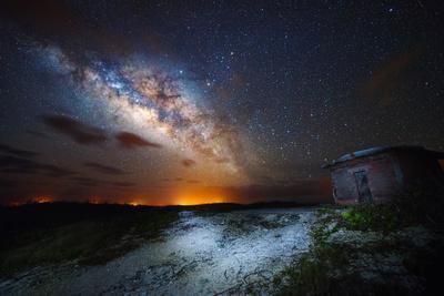 Milky Way over San Salvador