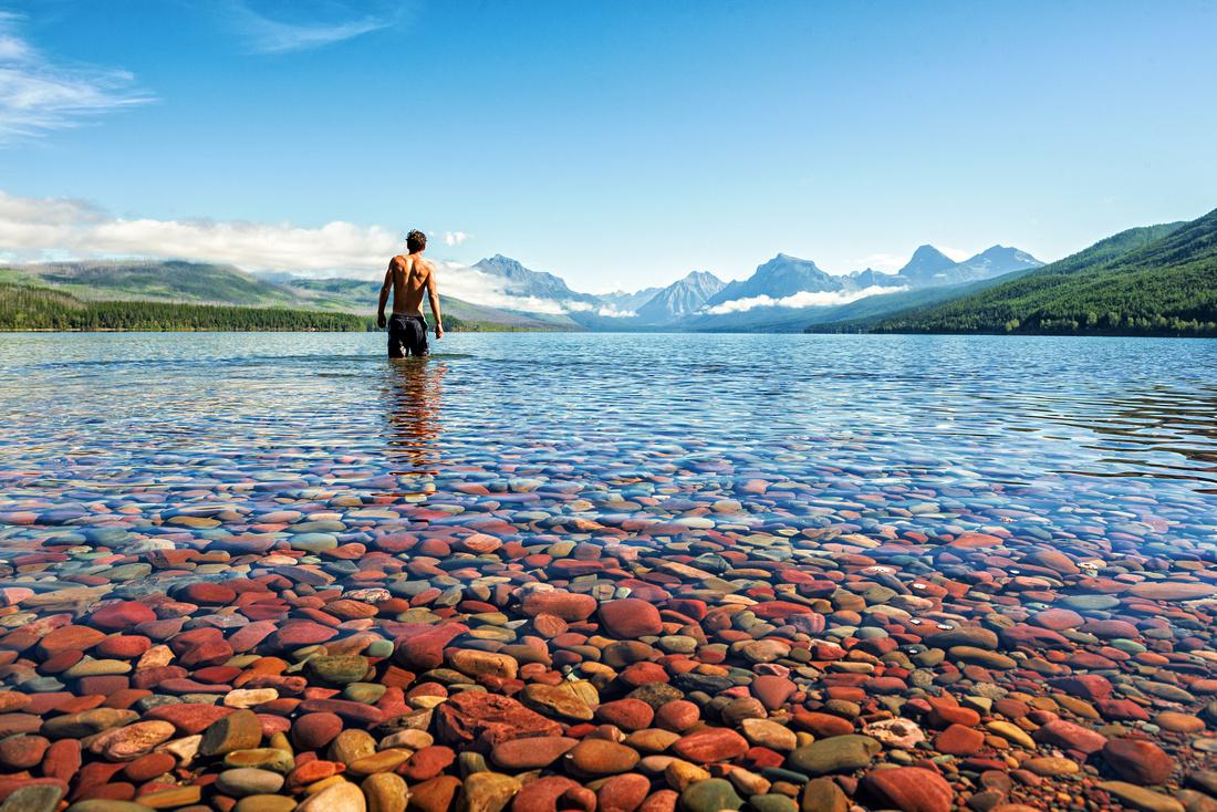 Lake McDonald Swim