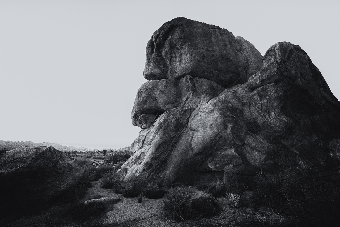 Rock formation in Joshua Tree National Park