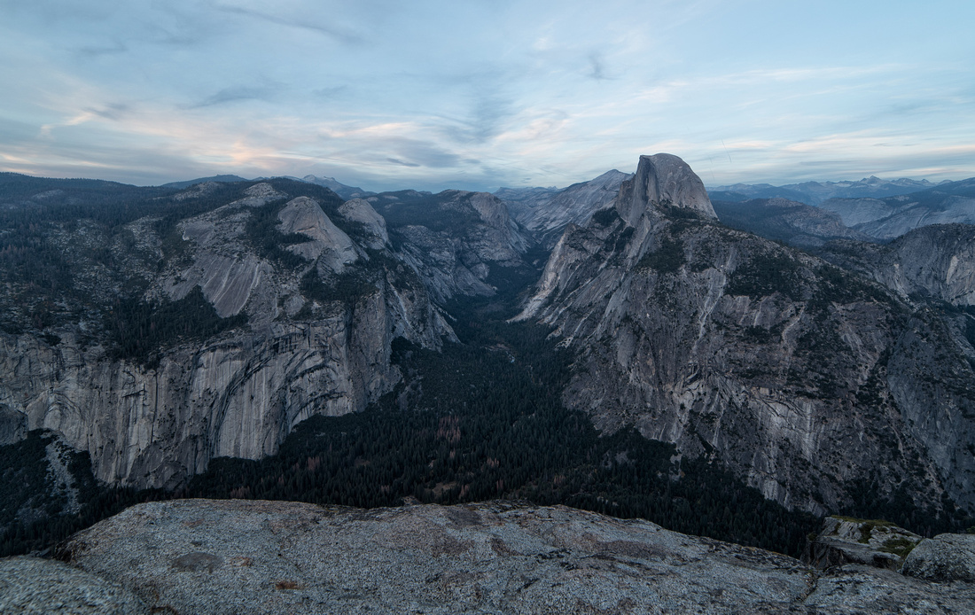 Yosemite Valley at Dusk