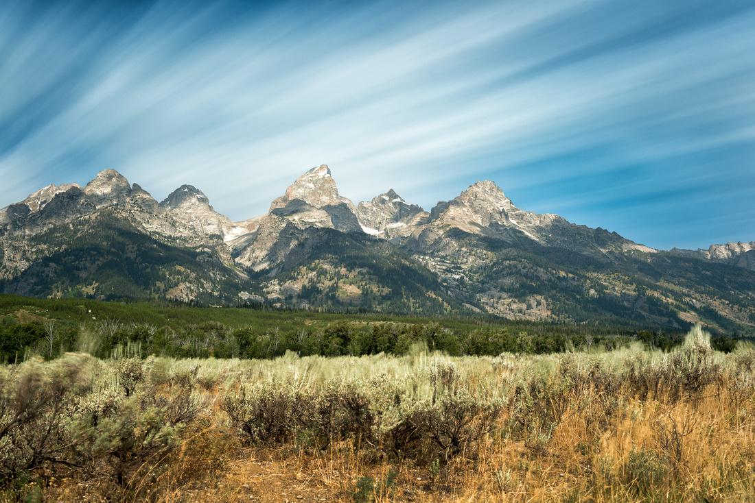 Grand Teton Long Exposure