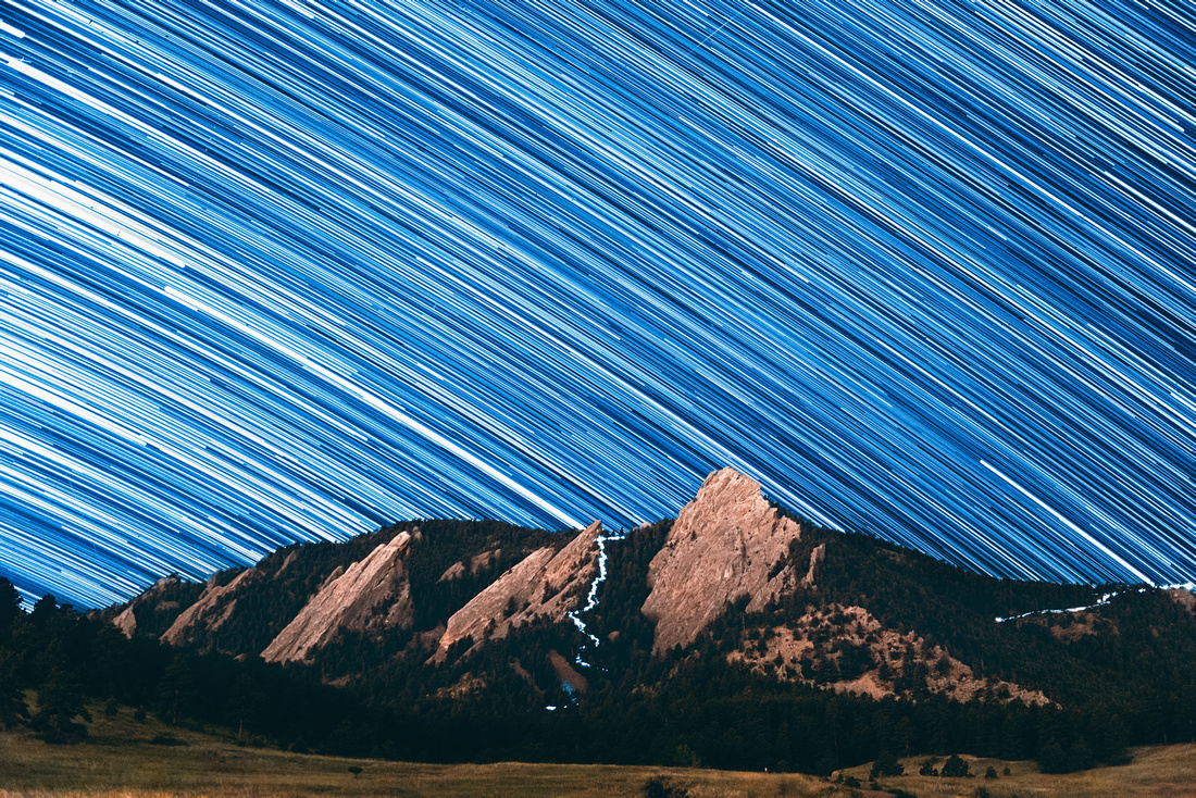Boulder Star Trails