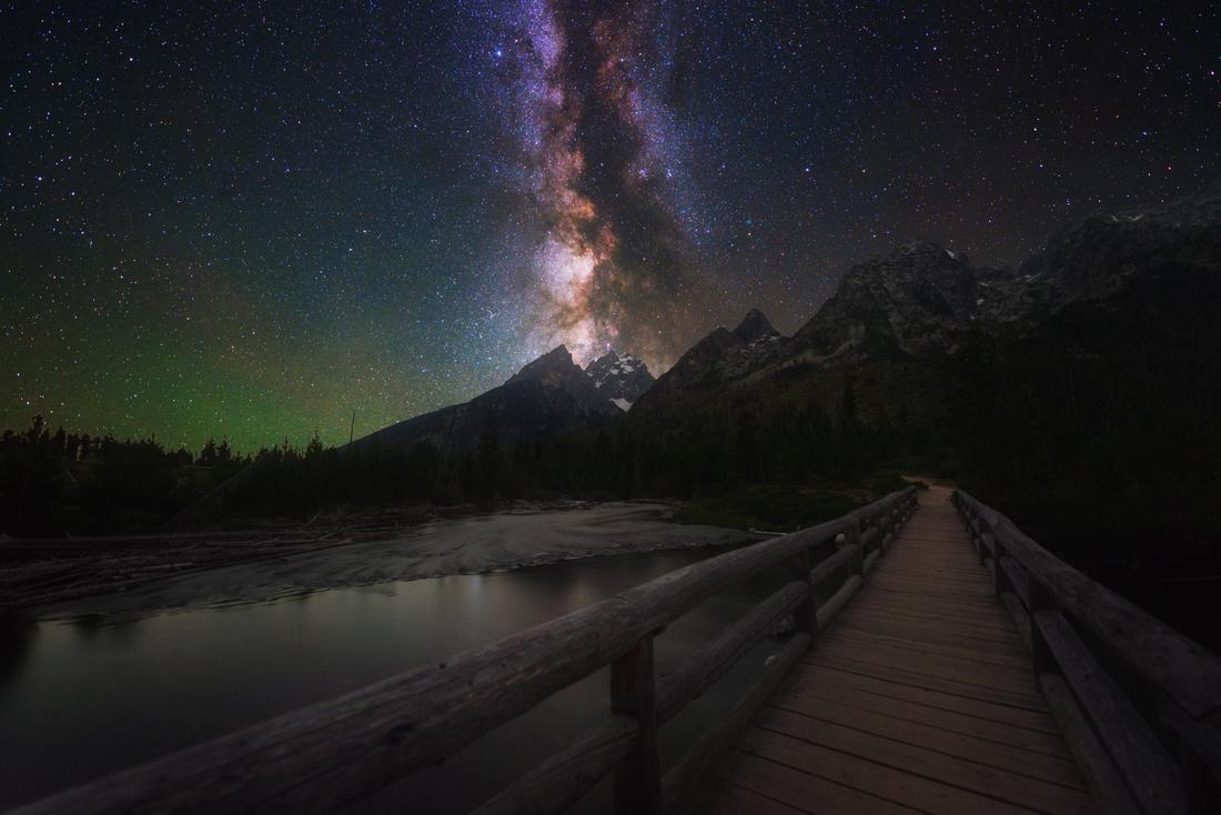 Grand Teton Nightscape