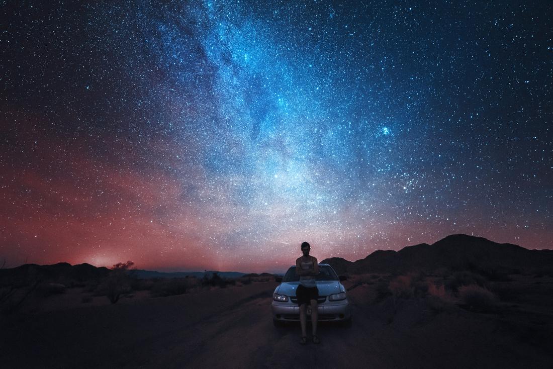 Milky Way over Joshua Tree National Park