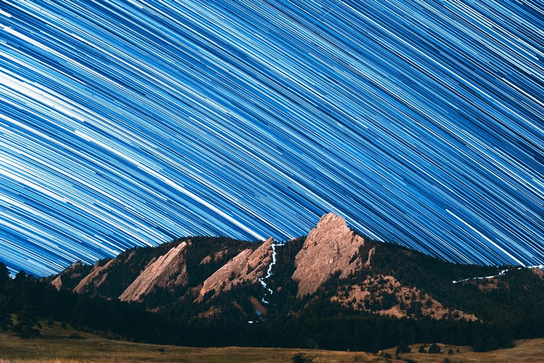 Boulder Star Trails